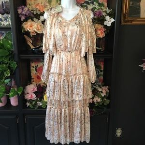 XS Chelsea & Violet long ruffle dress
